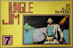 JUNGLE JIM #7 Sunday Pages 3 Nov. 1935/9 Feb. 1936 Alex Raymond LARGE Action Hero Newspaper Comic Strip Reprint