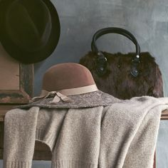 Top off your fall look with a wool hat.