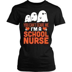 School Nurse - Halloween Ghost