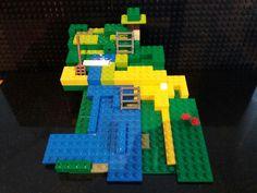 First Lego sculpture from scratch