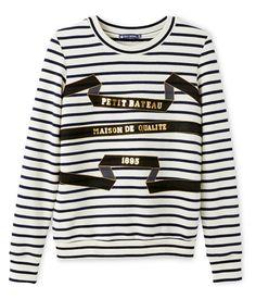 05e565ee2634b sweat shirt femme petit bateau .