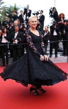 Helen Mirren is so chic! #Cannes