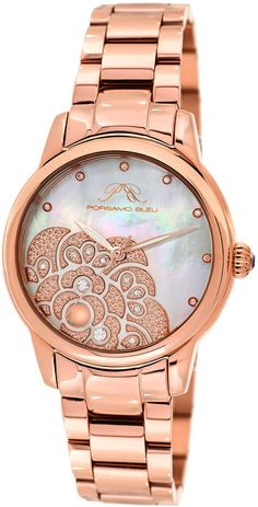 685a6a2e0995c Michael Kors Women s Mini Kerry Rose Gold-Tone Stainless Steel ...