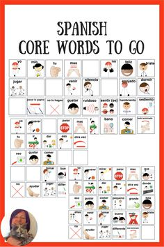Supporting AAC users who speak Spanish, or come from Spanish-speaking homes? Try these core word based activity boards - in Spanish! Speech Language Therapy, Speech Therapy Activities, Speech And Language, Speech Pathology, Spanish Language, Communication Development, Language Development, Resource Room Teacher, How To Speak Spanish
