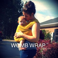 Our WOMB WRAP Baby Carrier Instruction Video is Up! Yay!! Just click the link below!!! https://youtu.be/D6Lng3fwty8