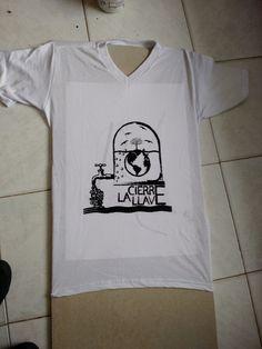 Serigrafía camiseta Cristian Bastidas y Mauricio Montaña
