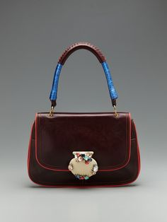 Marc Jacobs  Palm Beach Bay Satchel..not loving the shell but love the color combo