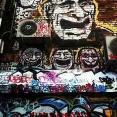 Doorways, Alleyways, Street Art, Graffiti & Wheatpaste travels with Sub urban bird artist Tim Niall-Harris