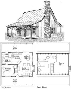 vintage house plan how much space would you want bigger tiny cabin floorplans joy studio design gallery best - Vintage Farmhouse Plans