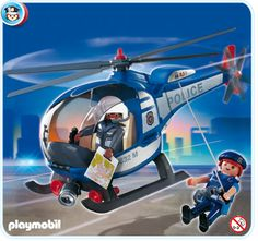 Playmobil 4267 - Police Helicopter