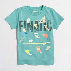 Factory boys' glow-in-the-dark finatic storybook T-shirt