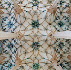 Church ceiling Photographer David Stephenson - St. Annenkirche (Annaberg-Buchholz).