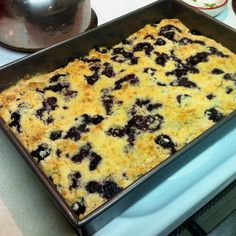 Blueberry Streusel Coffe Cake