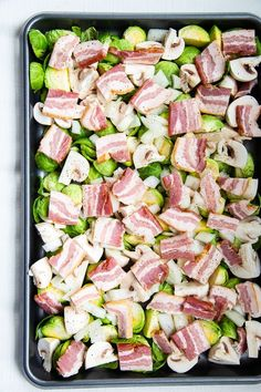 Sheet Pan Breakfast Hash {Paleo, Keto, Whole30}
