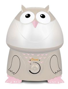 Crane Ultrasonic Cool Mist Adorable Beige Humidifier Owl with 1 Gallon tank-Color Exclusive to Toys R Us and Babies R Us. Removable 1 gallon tank easily and fits under most sinks. Runs whisper quiet for up to 24 hours. Effectively humidifies small and medium size rooms up to 500 feet and does not require a filter. FDA registered, BPA Free. PTPA Award Winner. All Toys, Toys R Us, Owl Nursery, Nursery Decor, Baby Bath Seat, Bath Seats, Ultrasonic Cool Mist Humidifier, Family Planning, Babies R Us