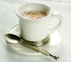 Warm Hazelnut Cinnamon Milk      2 C Hazelnut Milk (recipe here)     1 T Raw Honey (can add more if you like it sweeter)     1/2 t. Cinn...
