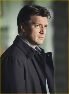 "Nathan Fillion as Richard Castle - Castle 2x19 ""Wrapped Up in Death"""