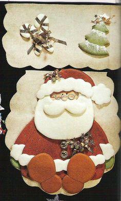 natal Christmas Humor, Christmas Holidays, Merry Christmas, Christmas Things, Felt Crafts, Christmas Crafts, Christmas Ornaments, Diy Crafts, Christmas Swags
