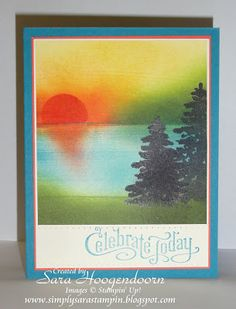 Celebrate Today by shoogendoorn - Cards and Paper Crafts at Splitcoaststampers