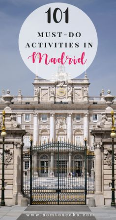 Find out the best things to do in Madrid - rooftop bars, tapas bars, restaurants, clubs, parks, day trips, and much more. This list contains 101 free or super cheap activities to do in Madrid plus an interactive map so you can easily find the locations.