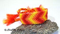 Ombre Friendshipbracelet by ConCHa Catena - dawanda.com #friendshipbracelet #handmade #bracelet