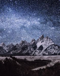 snake river overlook. grand tetons. wyoming. This  ... - snake river overlook. grand tetons. wyoming. This is photo 365 of 365 of the @shoottheskies book. Happy New Years and cheers to next years big adventures !