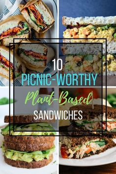 Delicious Easy Plant-Based Vegan Gluten-Free Sandwich Ideas For Summer.