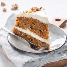 Carrot cake - Makkelijk basisrecept worteltaart - Leuke recepten Fodmap Recipes, Fodmap Foods, Low Fodmap, Cake Recept, Xmas Food, Pie Cake, Cake Cookies, Fun Desserts, Baking Recipes