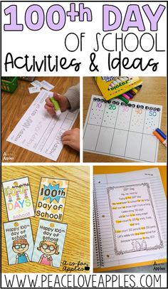 Activities, ideas, and FREEBIES for the 100th day of school!