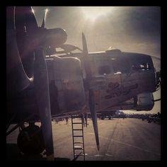 "Boeing B-17G ""Sentimental Journey""."