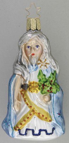 Inge Glas 2007 #Christbaumschmuck#aus dem Hause Inge Glas.Weihnachtsbaumschmuck made in Germany mundgeblasen und von Hand bemalt bei www.gartenschaetze-online.de