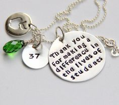 Personalized Teacher Gift Gift For Teacher by whiteliliedesigns, $59.50