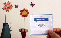 Habla de: Preguntas para hablar en clase de español | ProfeDeELE.es Spanish Activities, Conversation Topics, Spanish Classroom, Learning