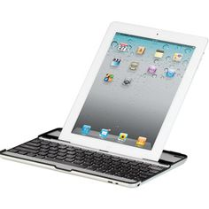 Hipstreet iPad 2 Aluminum Hard Case with Bluetooth Keyboard and Stand