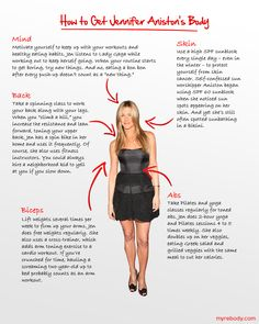 How to get Jennifer Aniston's body. apparently kibbe sn body type.