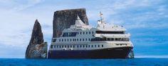 New Galapagos cruise ship Santa Cruz II.