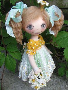 Купить Кукла ПРИНЦЕССА РОМАШКА-2 - кукла ручной работы, кукла текстильная, ручная работа