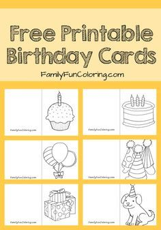dad grandpa printable coloring birthday cards activities for kids