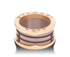 Bulgari Ringe | B.zero1 Rose Gold Jewelry, Jewelry Rings, Bvlgari Accessories, Bvlgari Ring, Bulgari Jewelry, Italian Jewelry, Dress Rings, Ring Bracelet, Jewelry Branding