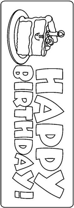 School Clip Art - Espe Escribano - Picasa Web Albums Diy Birthday Banner, Birthday Clipart, Diy Banner, Happy Birthday Banners, Mom Birthday, Birthday Ideas, Food Coloring Pages, Coloring Books, Happy Birthday Coloring Pages