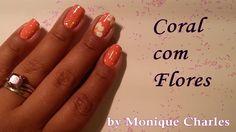Tuto : Unhas decoradas - Coral com Flores#nails #nail #fashion #style #TagsForLikes #cute #beauty #beautiful #instagood #pretty #girl #girls #stylish #sparkles #styles #gliter #nailart #art #opi #photooftheday #essie #unhas #preto #branco #rosa #love #shiny #polish #nailpolish #nailswag
