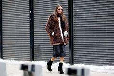 #faux #jacket #streetstyle