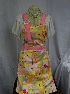Full Apron Mommy's Sunday Apron Pretty in by TheElliottsCloset, $24.99