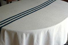 diy tablecloth by la chapstick fanatique, via Flickr