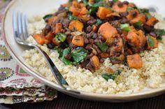 The Whole Life Nutrition Kitchen: Adzuki Bean & Yam Hash