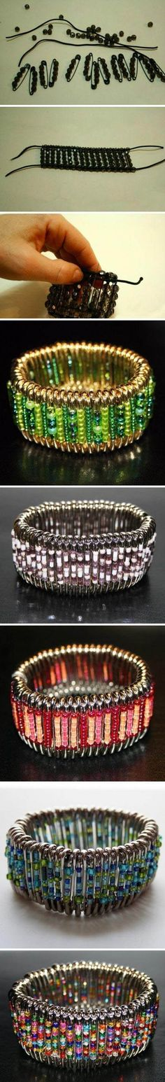 Cool Bracelet | Click to see More DIY & Crafts Tutorials on Our Site.
