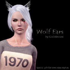 DreamWorld: Wolf Ears by GoldDream