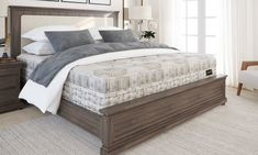 """Aireloom 15"""" Kelsey Side-Stitched Plush Mattresses 