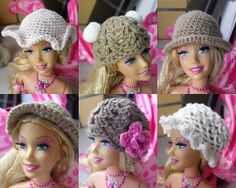Lovely Barbies Crochet hat by beetrims on Etsy, $3.00
