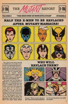 X-Men: Mutant Massacre - Who Will Replace Them? (1986)